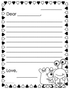 Custom of writing letters kindergarten pdf