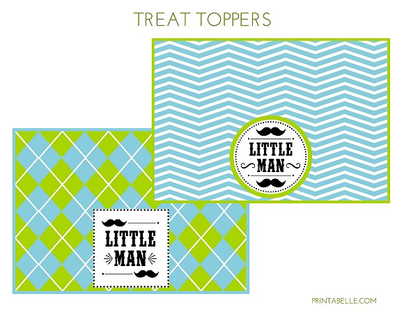 free little man mustache baby shower free printables and little man