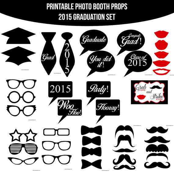 9 Images of Booth Props 2015 Printable