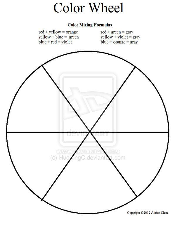 Primary Color Wheel Worksheet llamadirectory – Color Wheel Worksheet