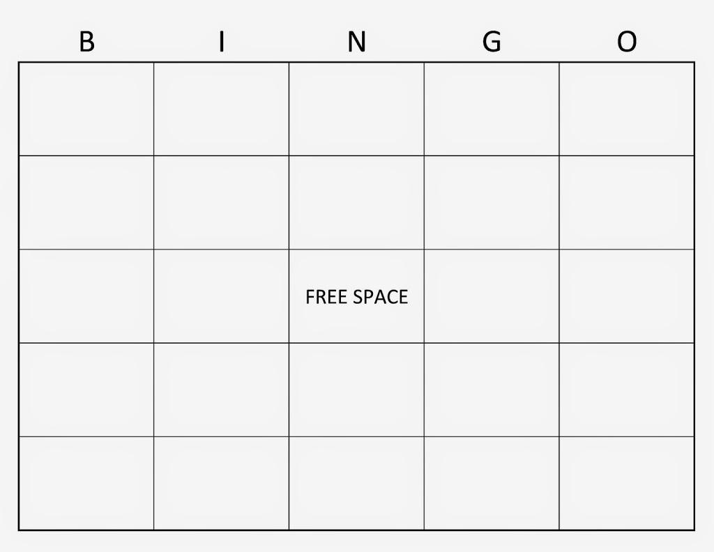 6 best images of 4x4 blank bingo cards printable 4x4