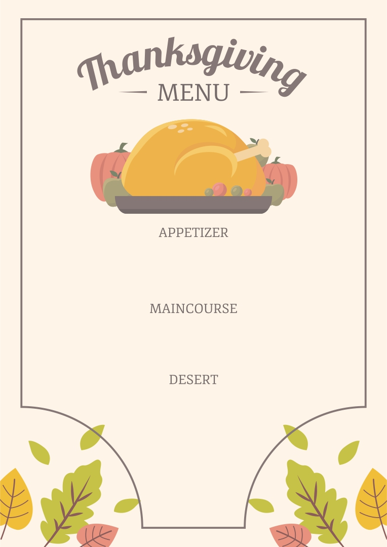 sample menu template 19 download in pdf psd word