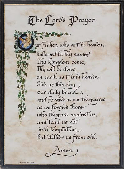 6 Images of Lutheran Lord's Prayer Printable Version