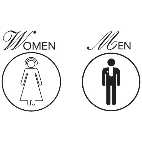 6 Images of Funny Bathroom Signs Printable