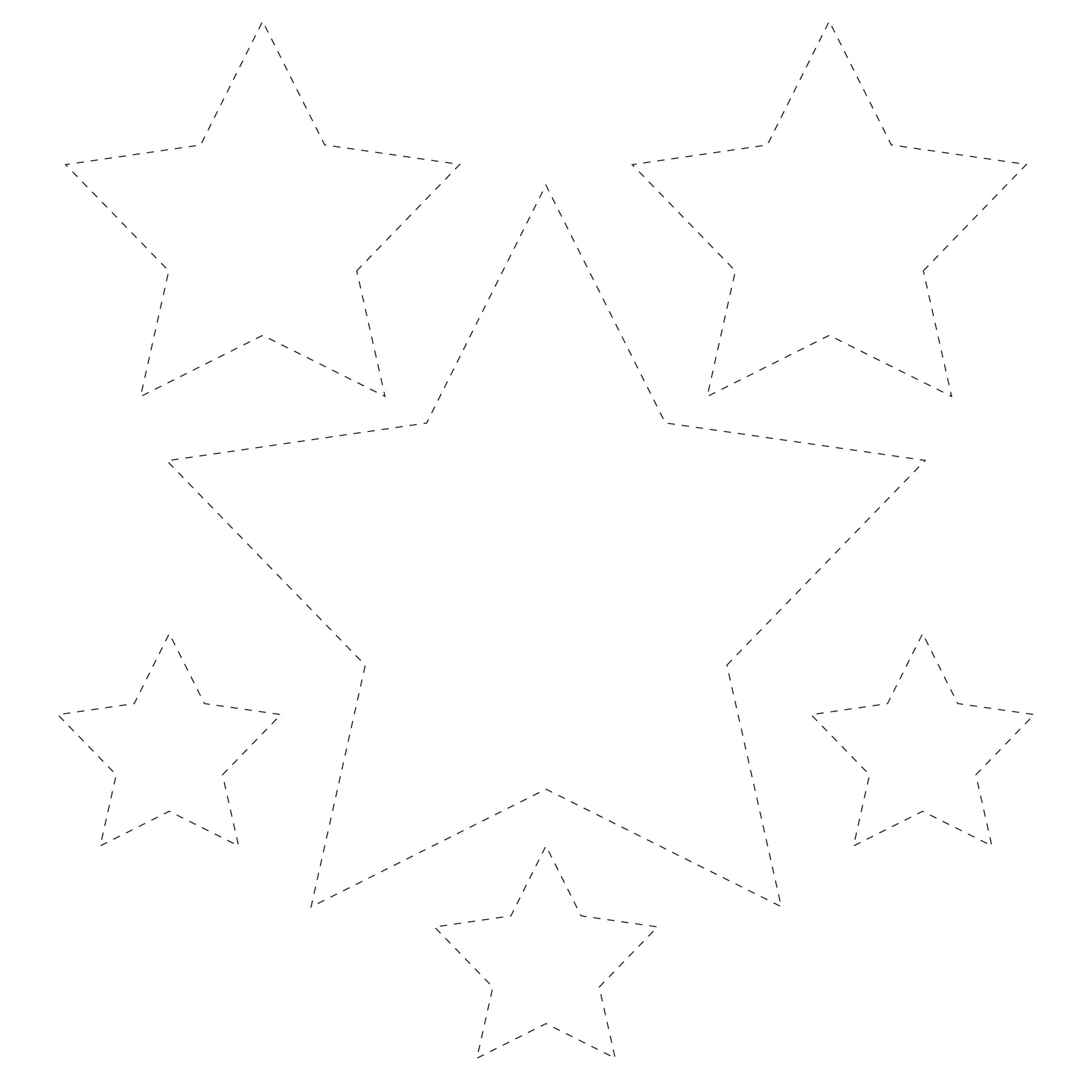 Printable Star Cut Out Template