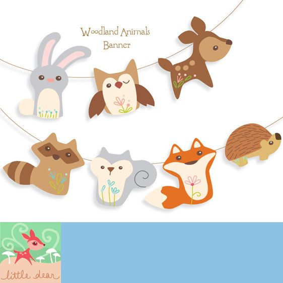 4 Best Images Of Printable Woodland Animal Templates