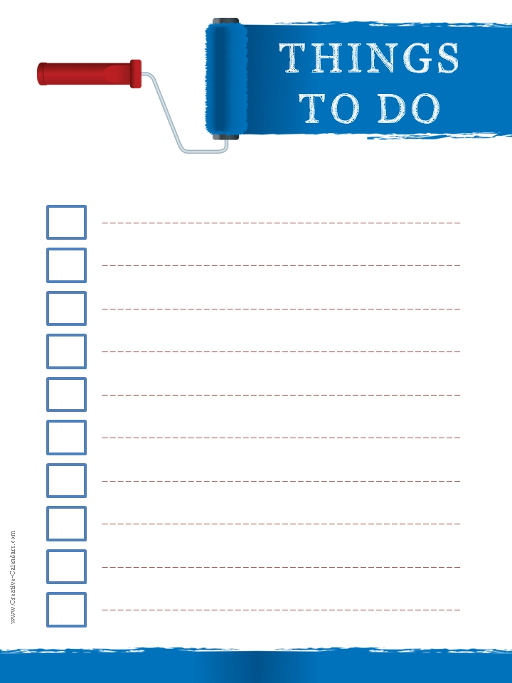 template creative printable to do list templates and things to do