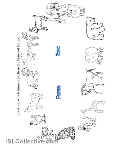 Zoo Animal Worksheets : All worksheets zoo animals for kindergarten