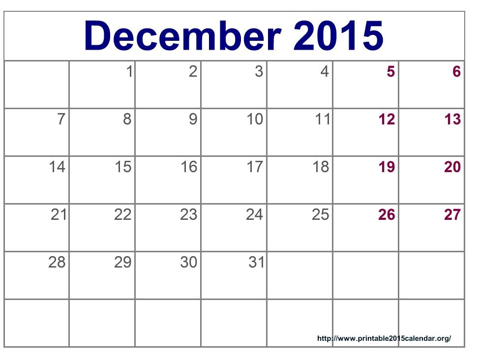April 2015 Calendar Printable Template