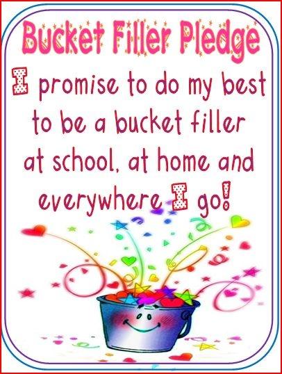 Bucket Filler Printables 9 best images of bucket filler printables ...