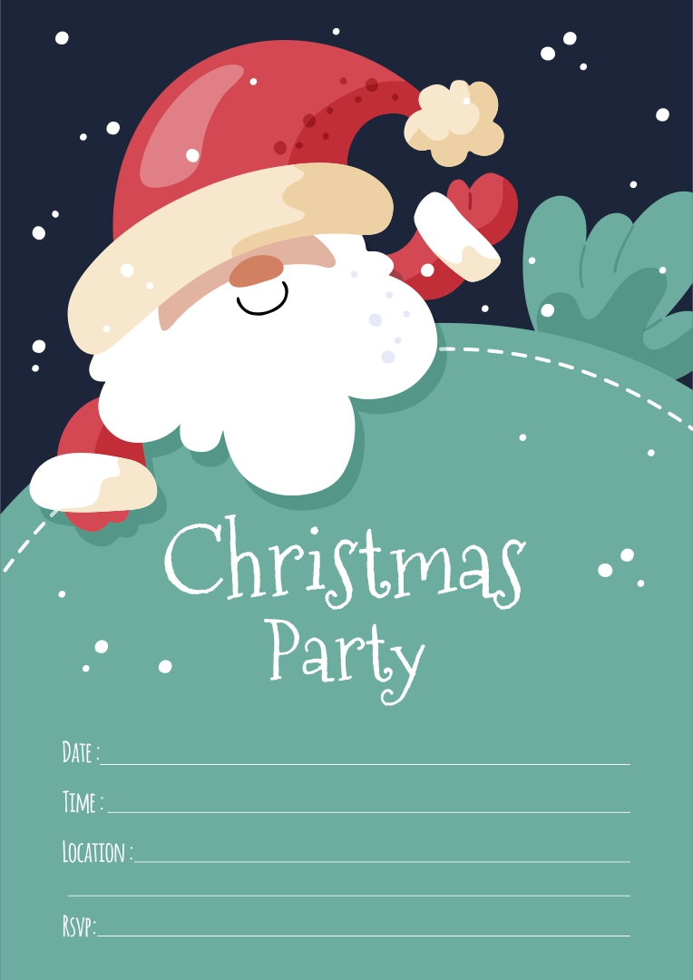 Christmas Party RSVP Templates