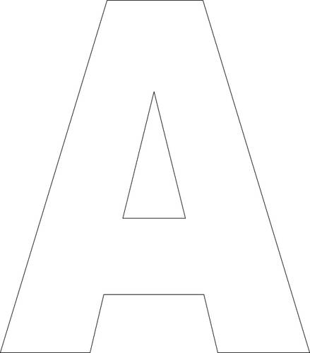block letter a 7 best images of free printable block letter alphabet 569