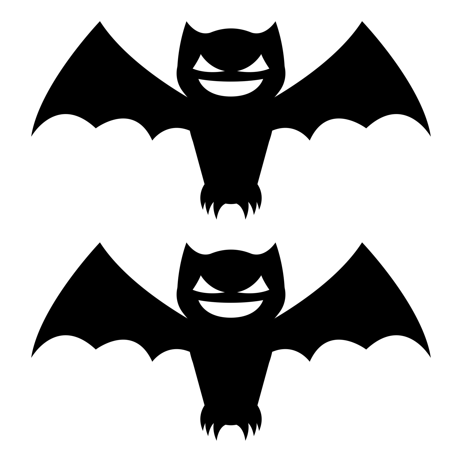 6 Images of Free Printable Halloween Bat Template