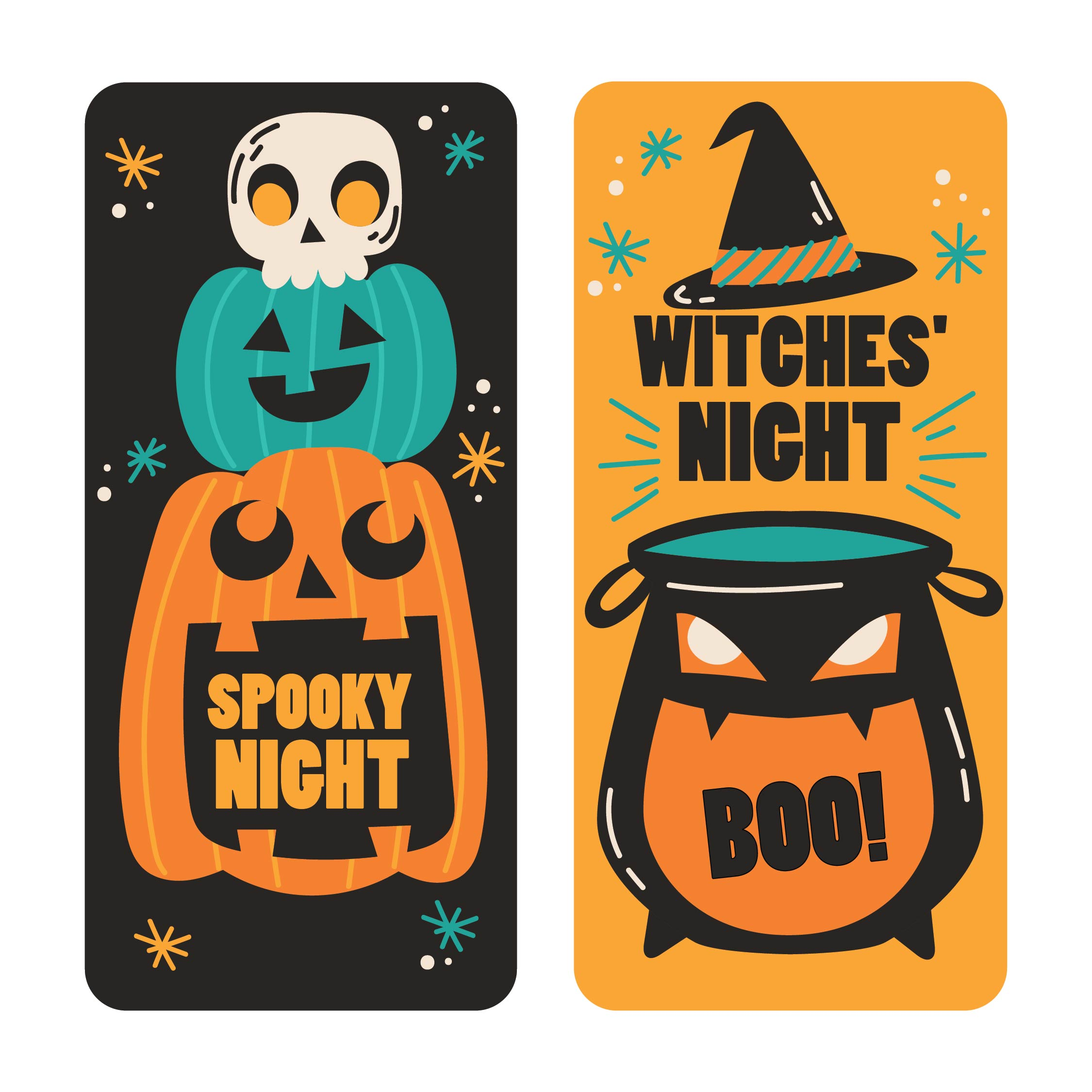 8 Images of Printable Halloween Bookmarks Jokes
