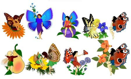 8 Images of Free Printable Fairy Clip Art