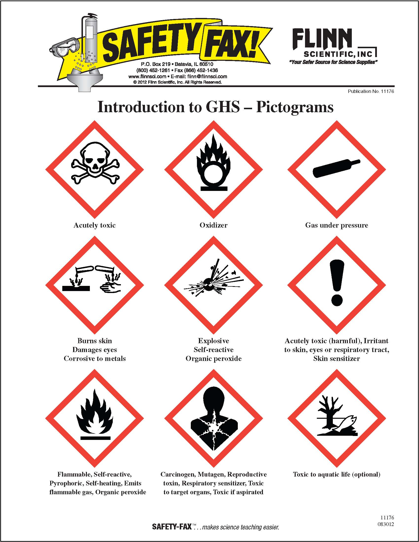 8 Images of Chemical Safety Posters Free Printable