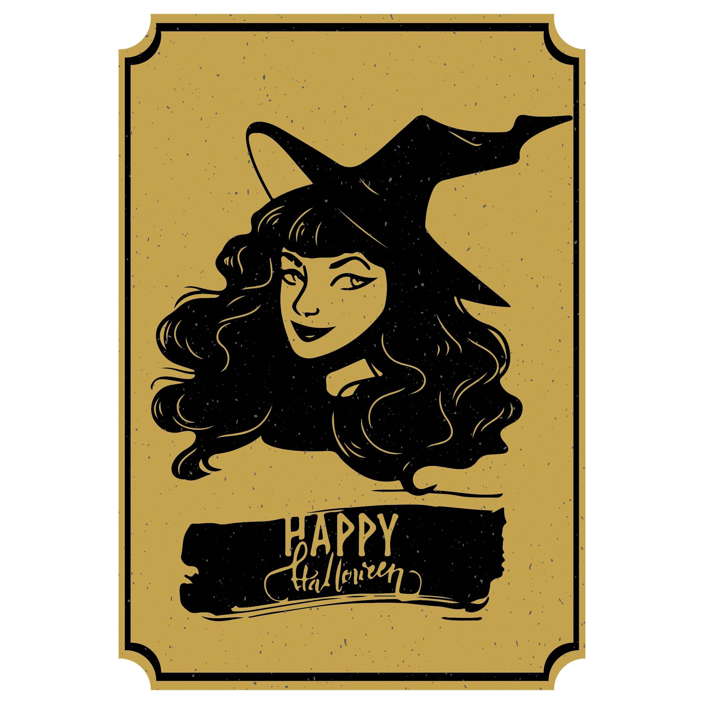 Free Printable Halloween Tags Vintage