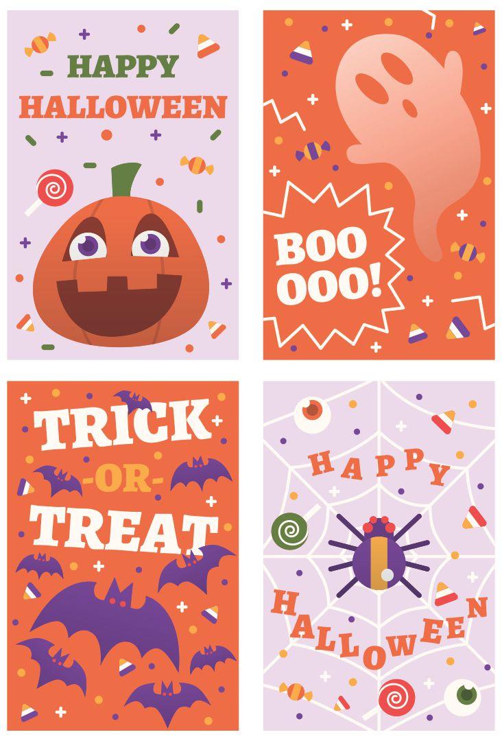 Free Printable Halloween Treat Bag Tag
