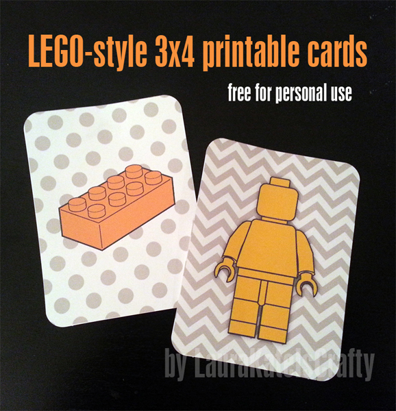 5 Images of LEGO Project Life Printable Cards