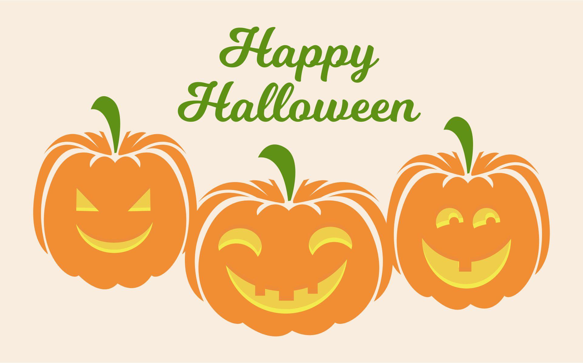 9 Images of Vintage Printable Halloween Pumpkin Art