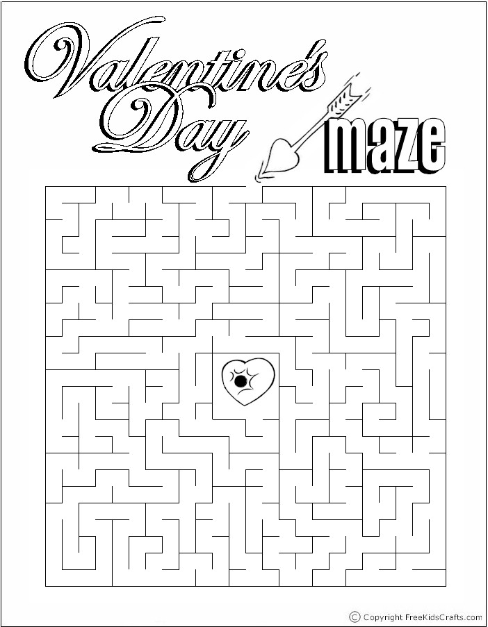 7 Images of Free Printable Valentine Puzzles