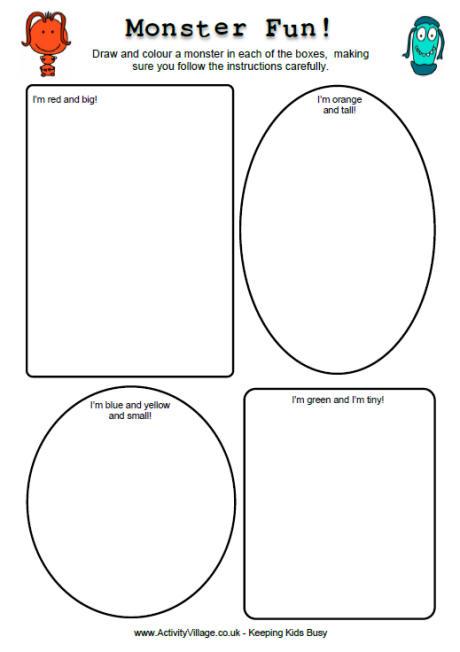 Number Names Worksheets : fun printable worksheets for kids ~ Free ...