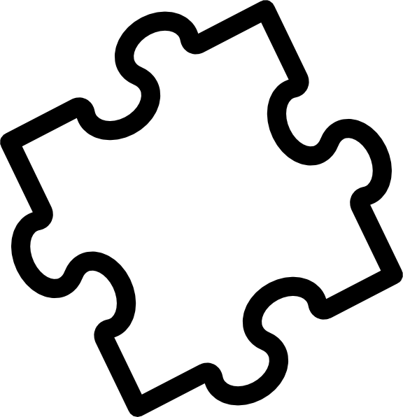 8 best images of puzzle piece template printable large for Large blank puzzle pieces template