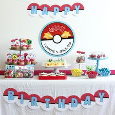 7 Images of Pokemon Printable Party Decor