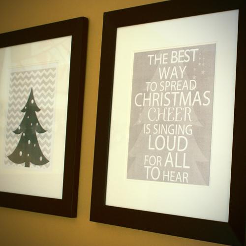 6 Images of Christmas Printable Wall Art