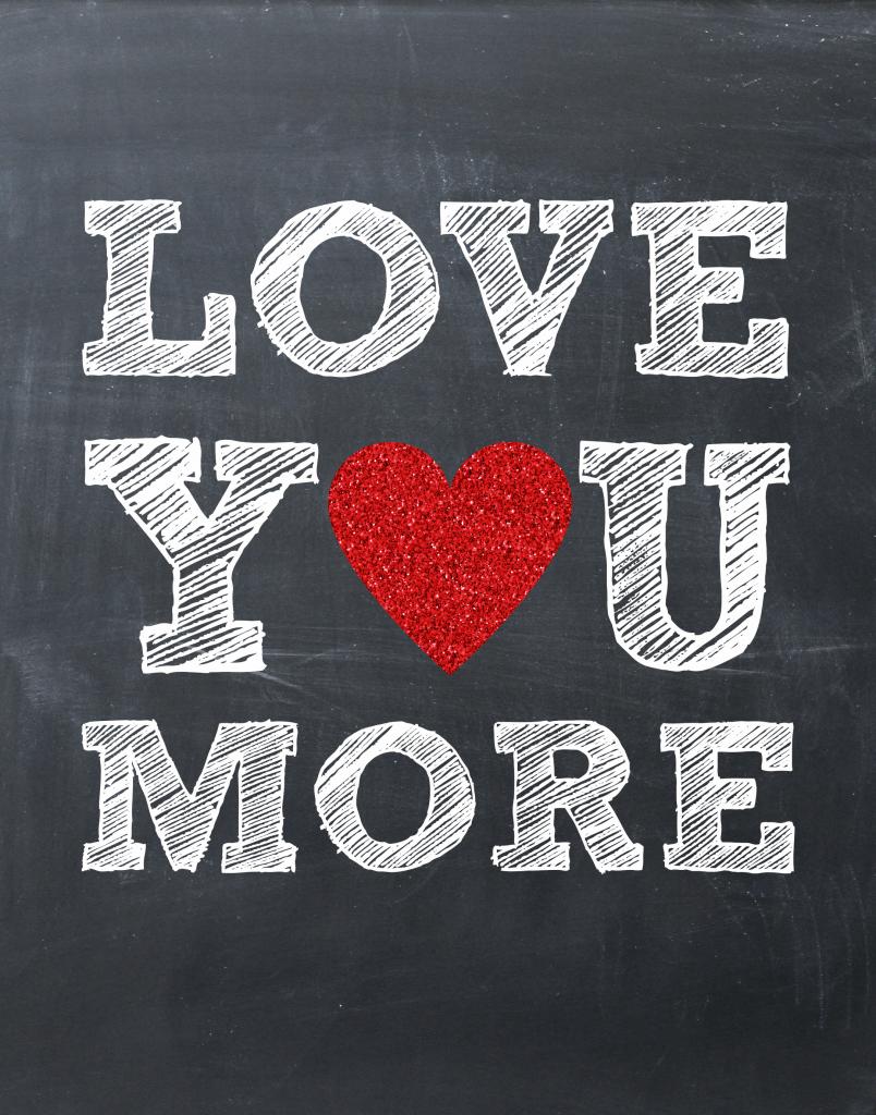 Printable Love You More