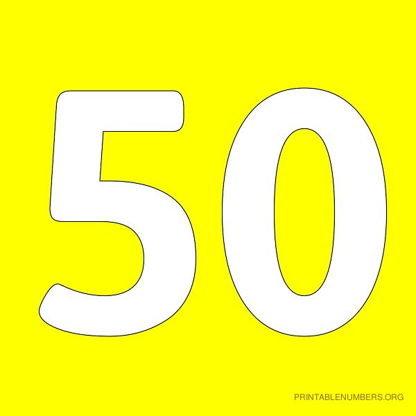 8 Best Images of Printable Numbers 1-50 - Printable Number Chart 1 ...