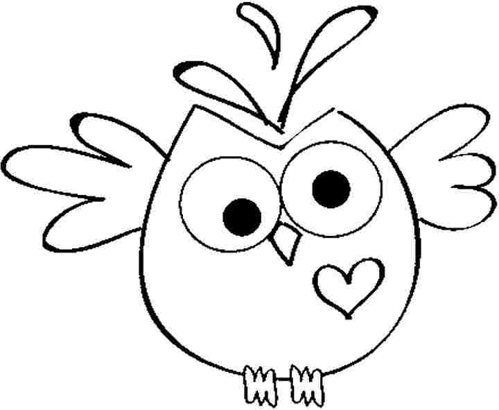 owl coloring page  Coloring Pages
