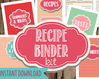 9 Images of Recipe Binder Printables Cover Page Clip Art