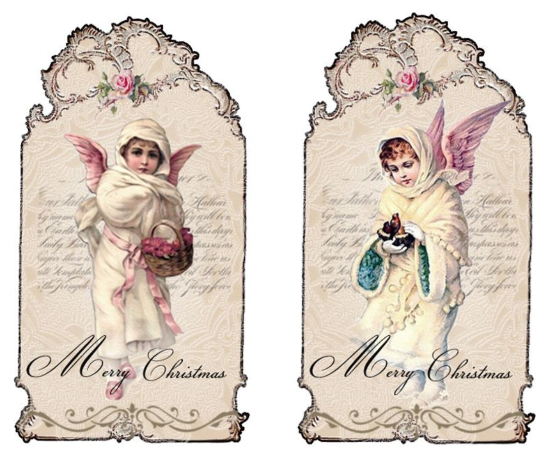 Shabby Chic Christmas Printables