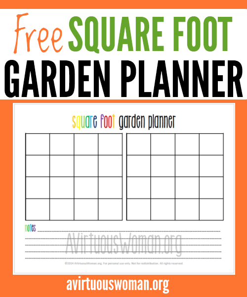 6 Images of Free Printable Garden Planner