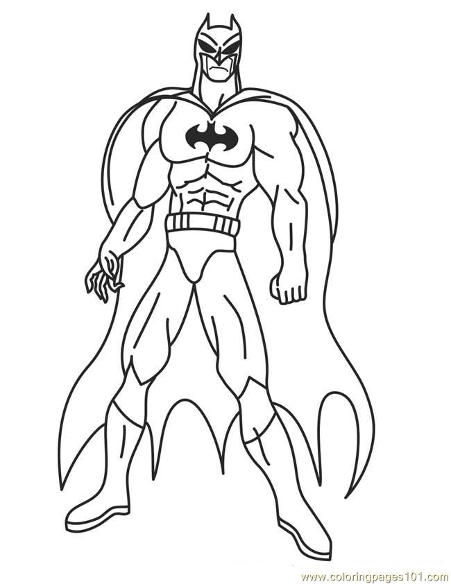 6 Images of Superhero Printable Coloring Pages