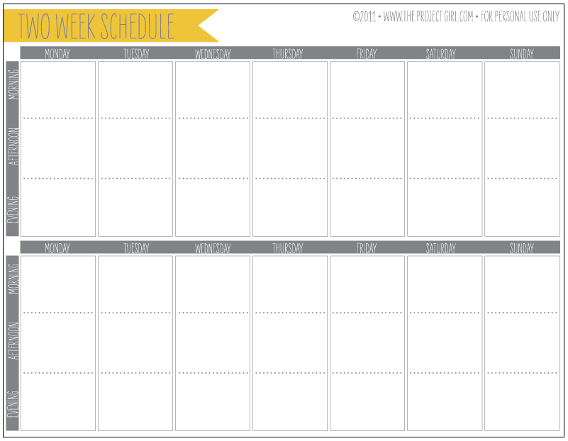 week by week planner template 6 best images of printable schedule week 2 2015 nfl