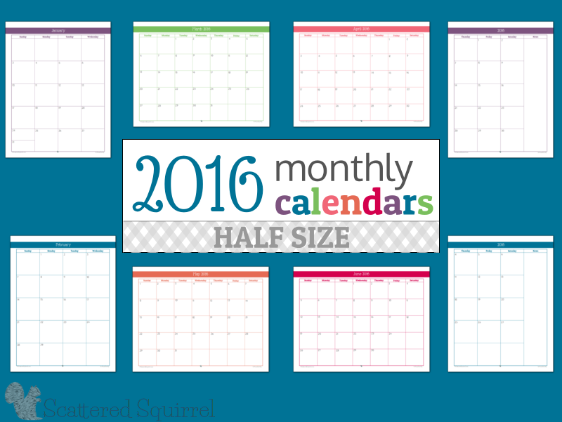 7 Images of Counting Weeks 2016 Calendar Printable