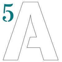 3 Inch Block Letter Stencils Printable