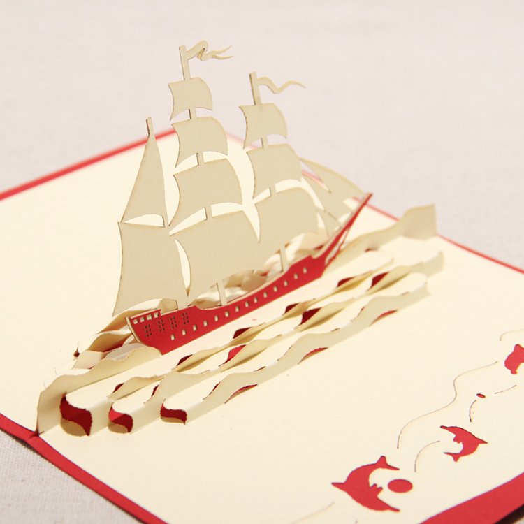 6 Images of Boat Birthday Card With Printable
