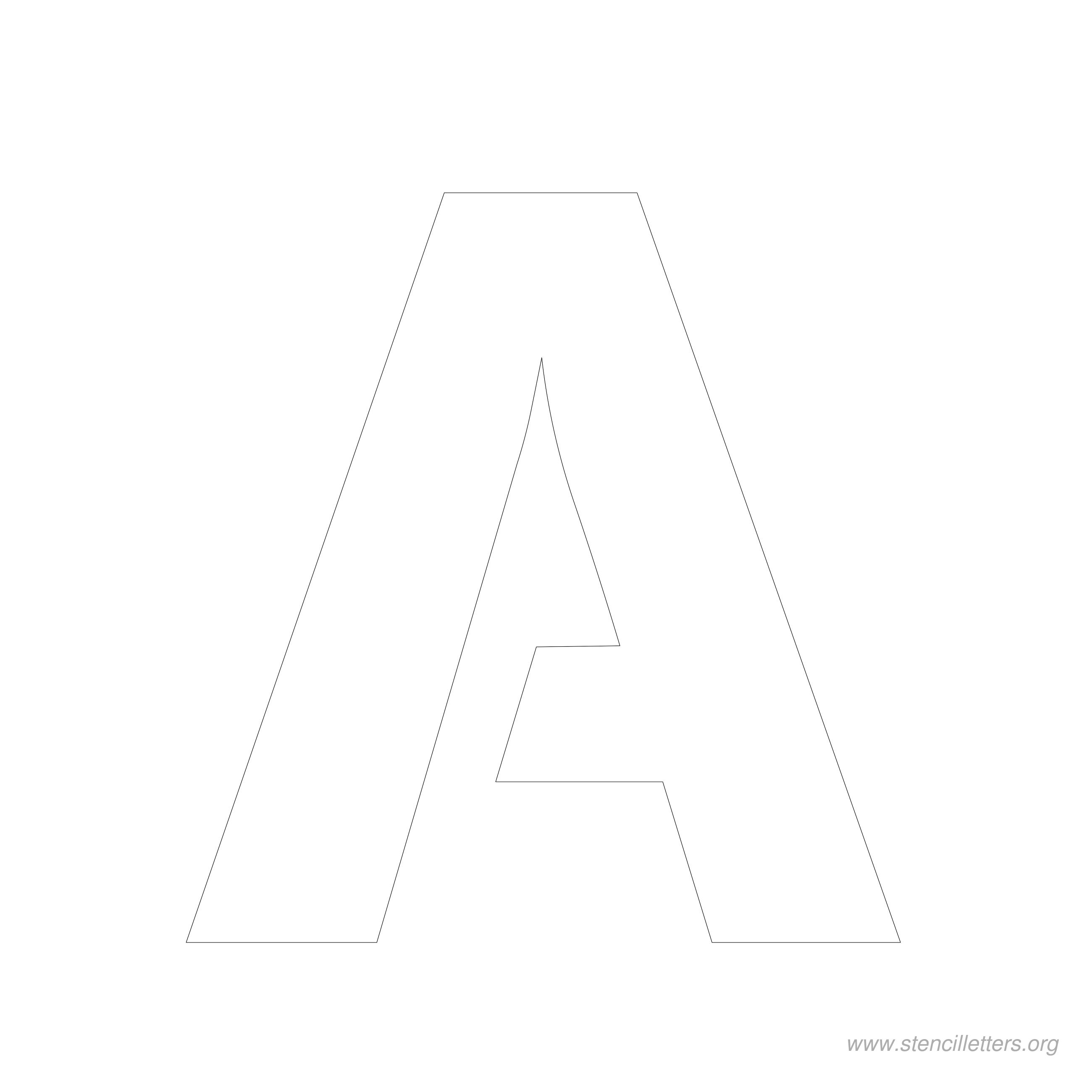 9 Images of 6 Inch Letters Printable