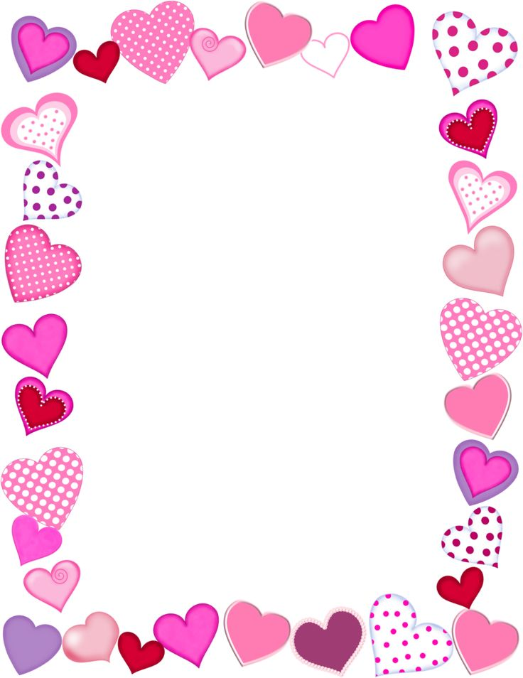 7 Images of Free Valentine's Printable Frame