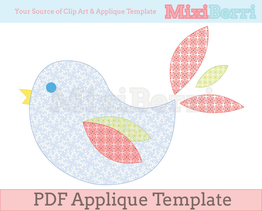 4 best images of bird template printable bird pattern for Balancing bird template