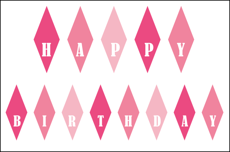 happy birthday cake banner printable pictures to pin on pinterest on cake birthday banner
