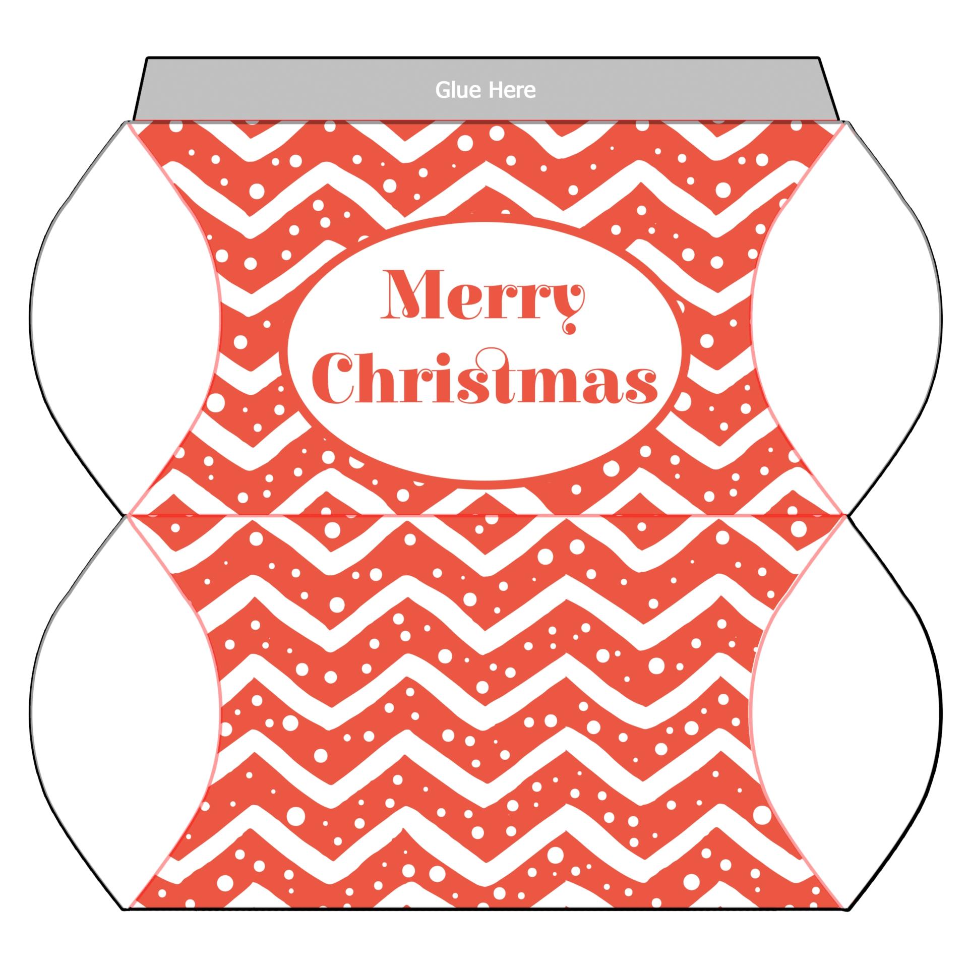 Christmas Tree Gift Box Template