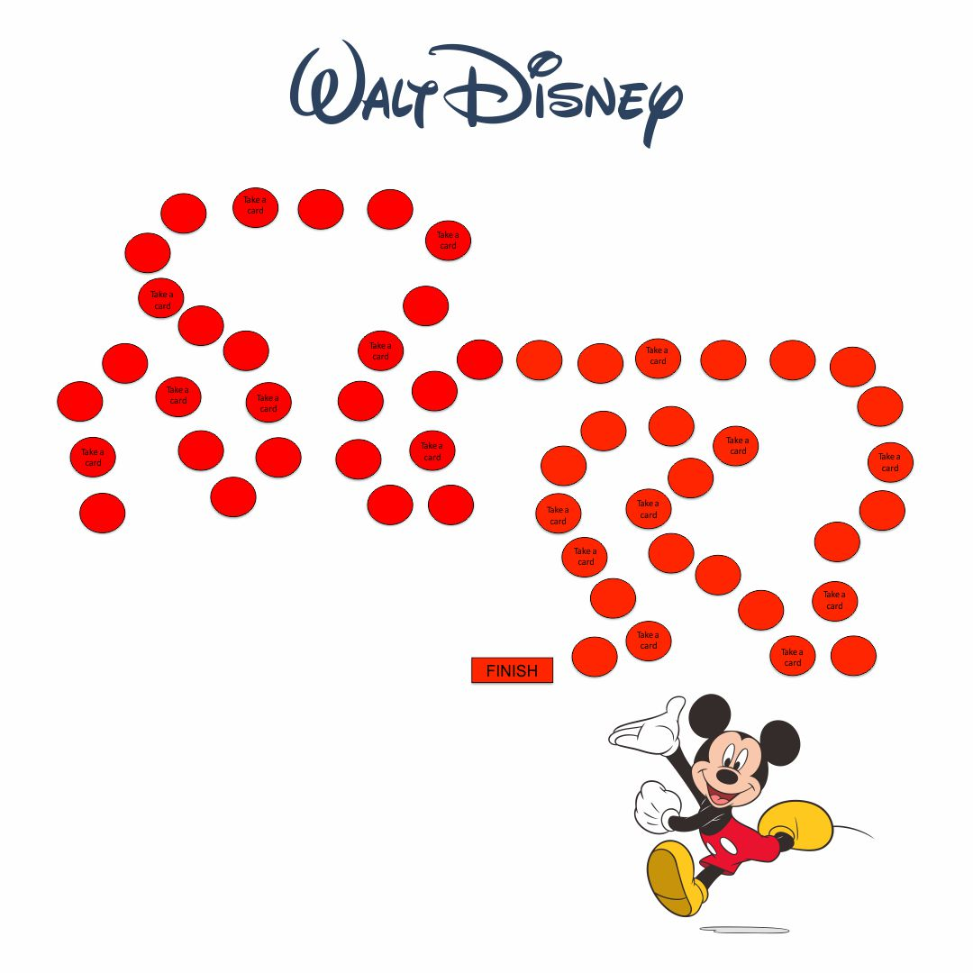 Disney Board Games Printable