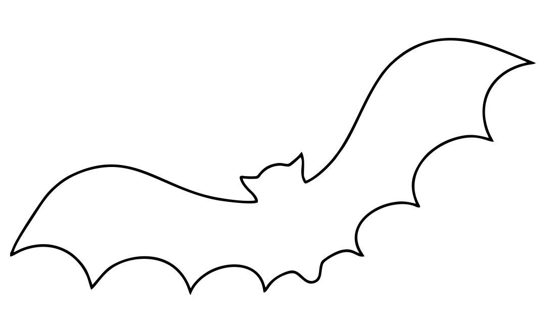 5 Best Large Printable Bat Templates - printablee.com