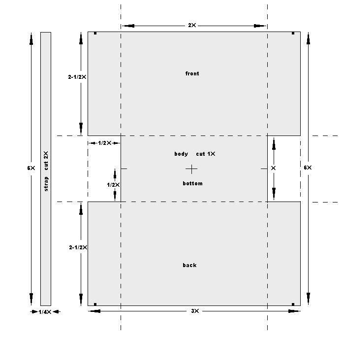 5 Images of Free Printable Purse Bag Patterns