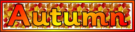 5 Images of Autumn Banner Printable