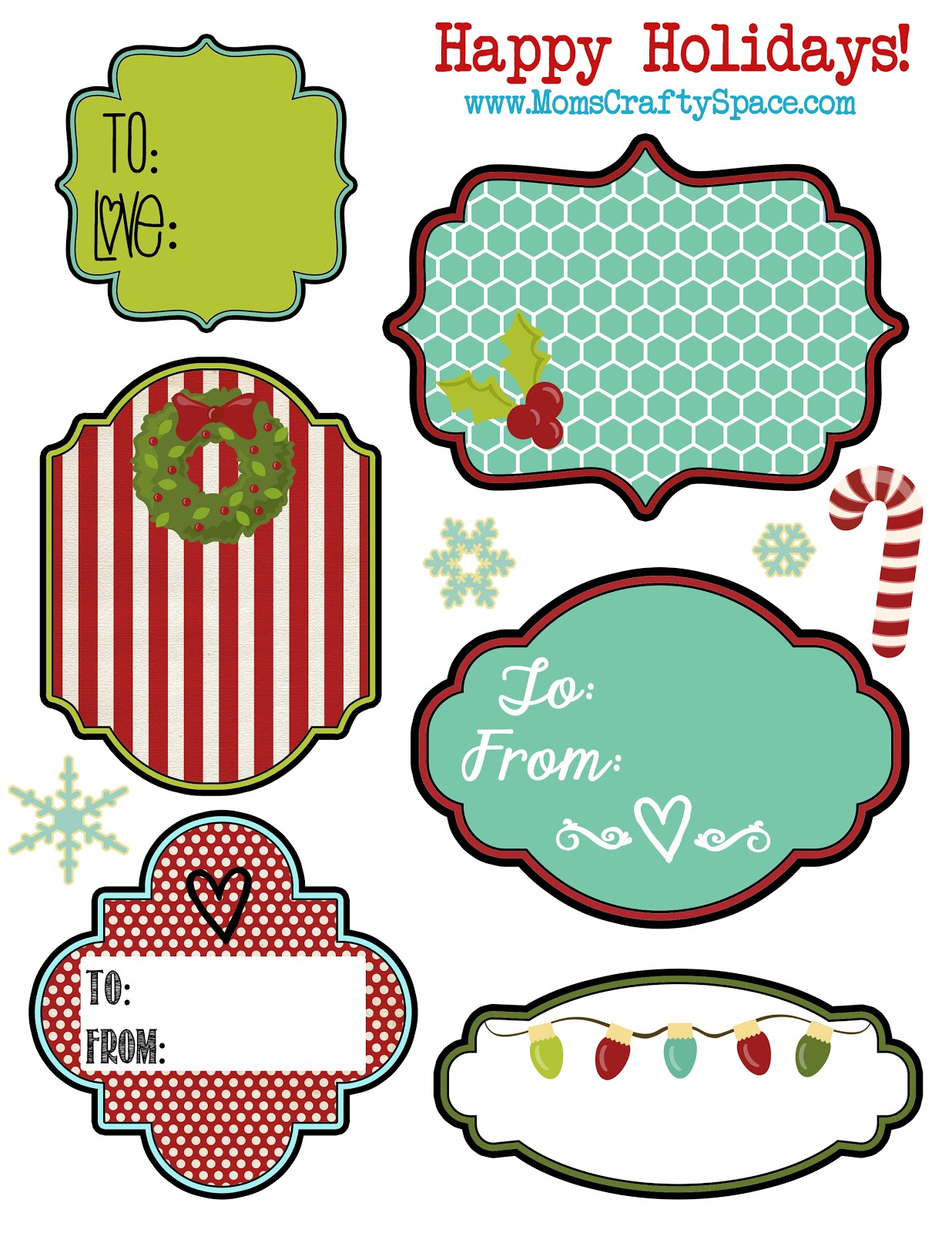 6 Images of Holiday Christmas Pictures To Printable